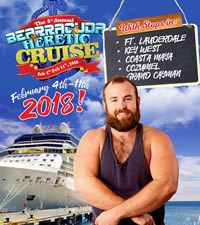 Bearracuda Heretic Caribbean Bears Cruise 2018