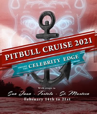 Pitbull Gay Cruise 2021