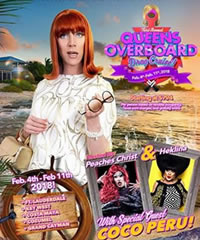 Queens Overboard Caribbean Drag Cruise 2018
