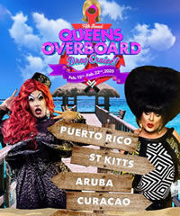 Queens Overboard Caribbean Drag Cruise 2020