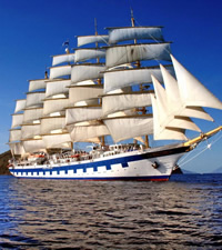Royal Clipper Mediterranean Gay Cruise 2022