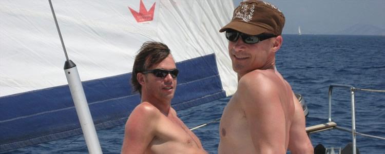 nude sailing Gay men