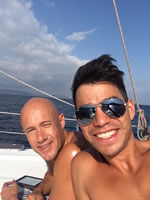 Gay Sailing Greece from Athens to Zakynthos