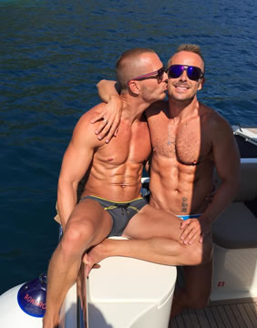 Gay luxury cruise