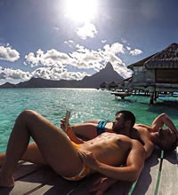 Tahiti gay sailing cruise