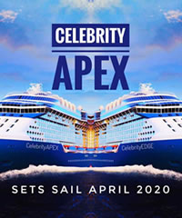Celebrity Apex Maiden Voyage Gay Group Cruise 2020