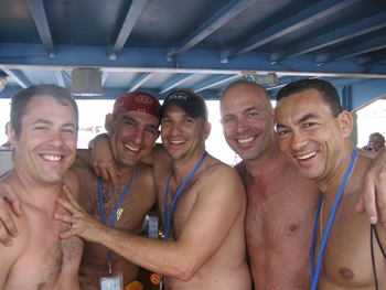 gay clothing optional cruise