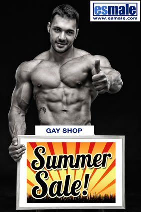 ESmale gay shop summer sale