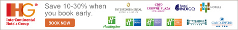 InterContinental Hotels Group - Book Early and Save 10 to 30% on Your Next Stay!