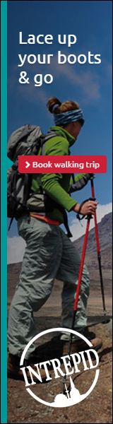 Intrepid Travel walking & trekking tours