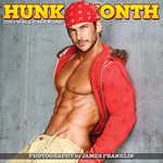 Hunk of the Month 2013 Calendar