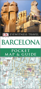 BarcelonaDK Eyewitness Pocket Map and Guide