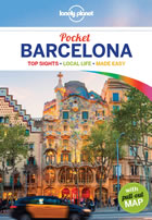 Lonely Planet Barcelona pocket guide