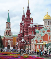 Moscow, Russia Gay Tour
