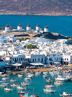 Greek Islands Gay Tour - Santorini, Mykonos, Milos, Athens