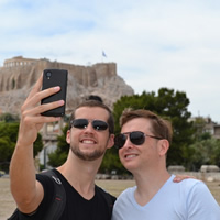 Greece Gay Tour - Athens, Santorini, Mykonos, Milos