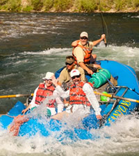 Idaho Main Salmon River Gay Rafting Adventure