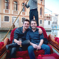 Venice Valentine's Day Gay Trip