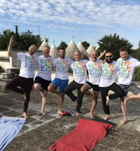 Puglia Italy Gay Yoga Retreat