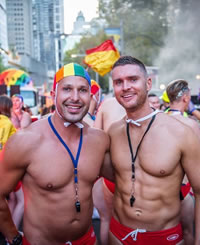 Sydney Mardi Gras Gay Tour