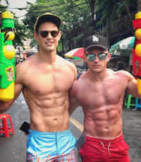 Thailand Songkran Water Festival Gay Tour 2022