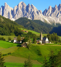 The Heavenly Dolomites - Italy Gay Tour