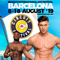 Circuit Barcelona 2019 Gay Holiday Package