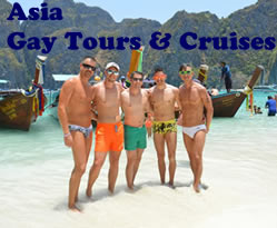 Asia Gay tours & cruises