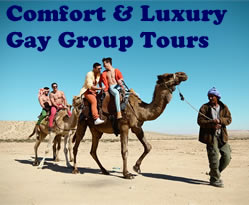 Comfort & Luxury Gay group tours