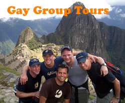 Exclusively gay group tours